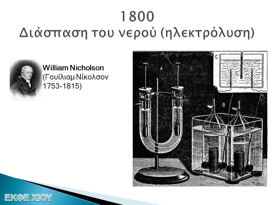 William Nicholson (Γουίλιαμ Νίκολσον 1753-1815)