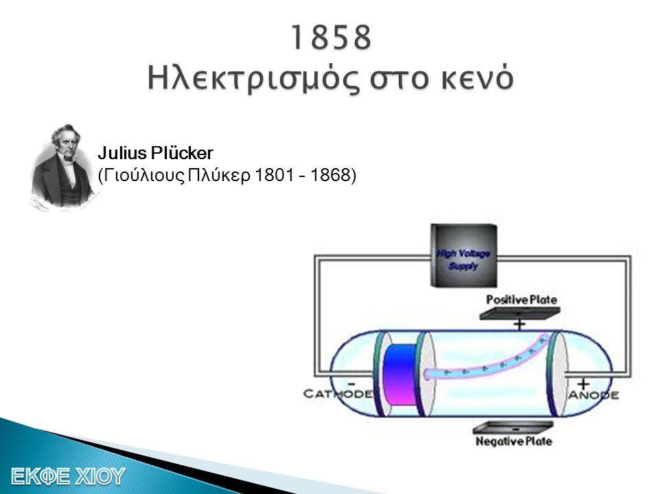 Julius Plücker (Γιούλιους Πλύκερ 1801 – 1868)