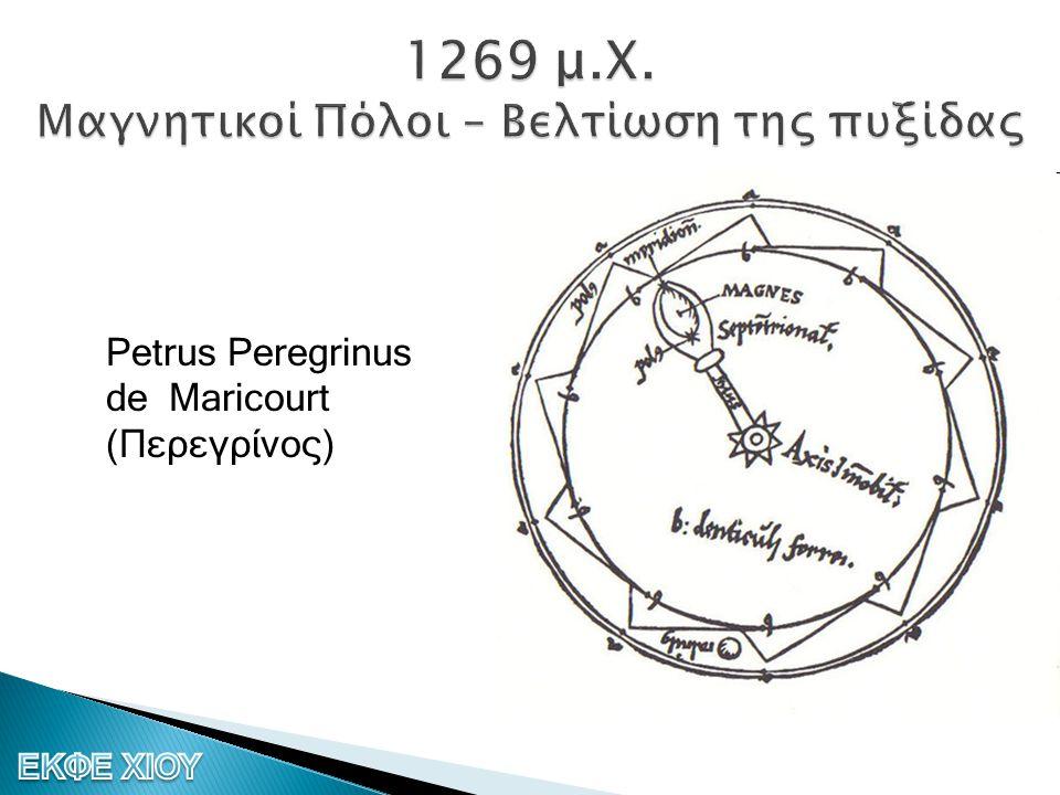  De Magnete (Περί Μαγνητών)  Η γη ένας τεράστιος μαγνήτης  «Ηλεκτρικές ουσίες» και «Ηλεκτρισμός» William Gilbert (Γουίλιαμ Γκίλμπερτ 1544 – 1603)