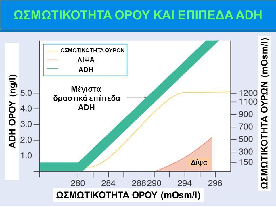 ΔΟΚΙΜΑΣΙΑ ΣΤΕΡΗΣΗΣ Η 2 Ο   Διεγείρει την απελευθέρωση ενδογενούς ADH, η οποία φυσιολογικά αυξάνει την ΩΠ των ούρων   Συνήθως ολοκληρώνεται σε 4–12 ώρες