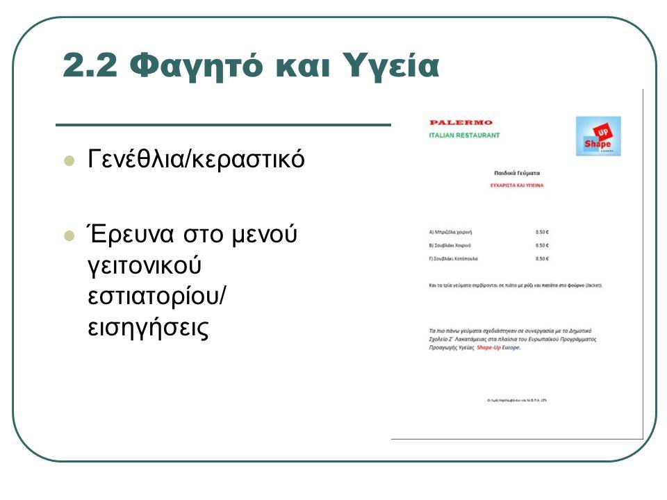 Διαδίκτυο http://www.moec.gov.cy/agogi_ygeias/anal ytika_programmata.html http://www.moec.gov.cy/agogi_ygeias/anal ytika_programmata.html Πηγές