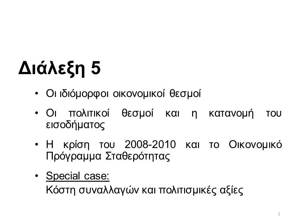 52 Η κρίση του 2008 και η Ελληνική οικονομία