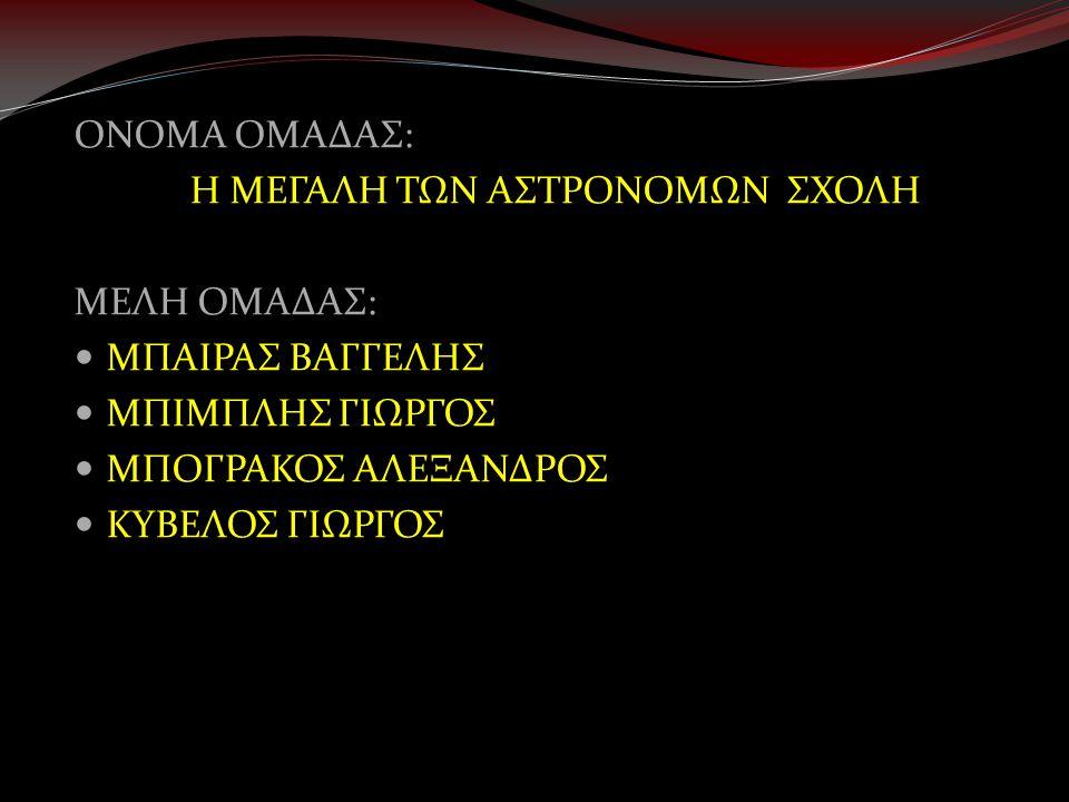 Η κοσμολογία του Πλάτωνα  Επηρέασε την εξέλιξη της αστρονομίας.