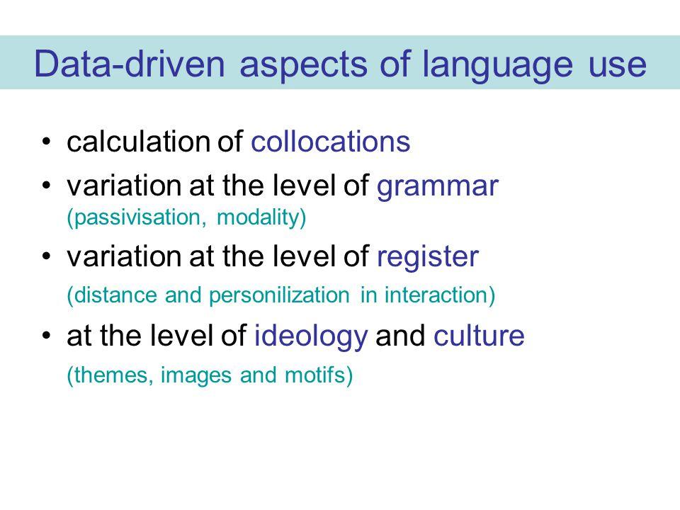 TEGMA: a lexicographical potential