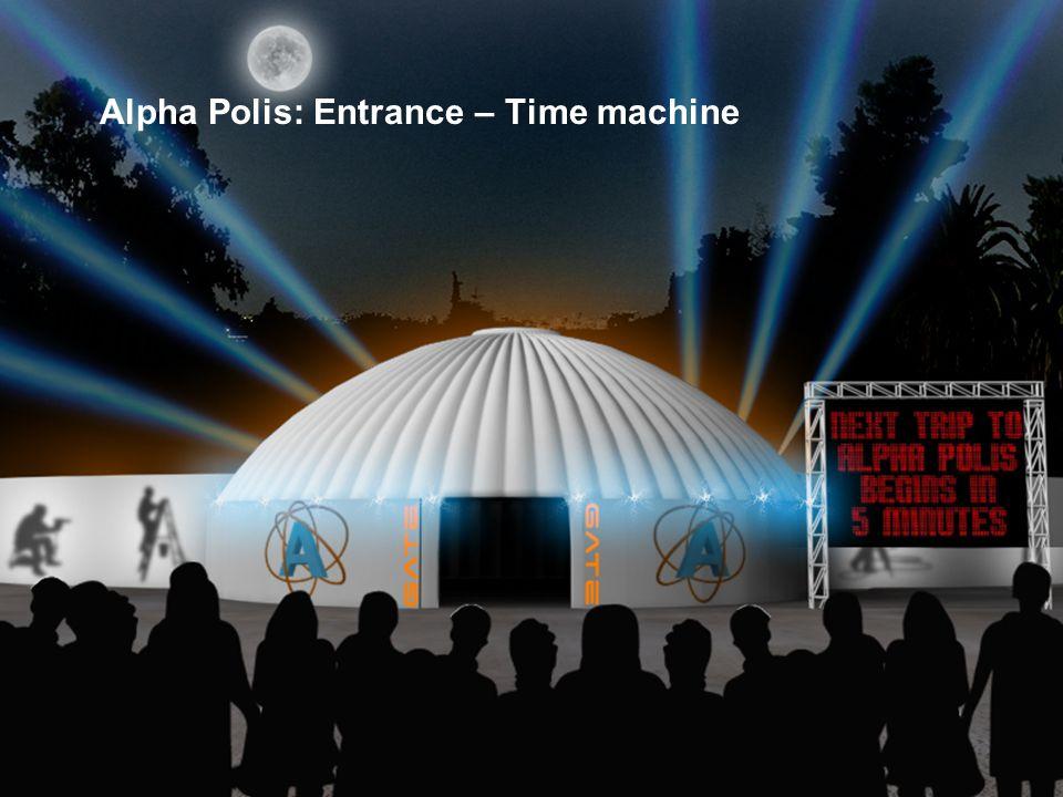 Alpha Polis: Entrance – Time machine