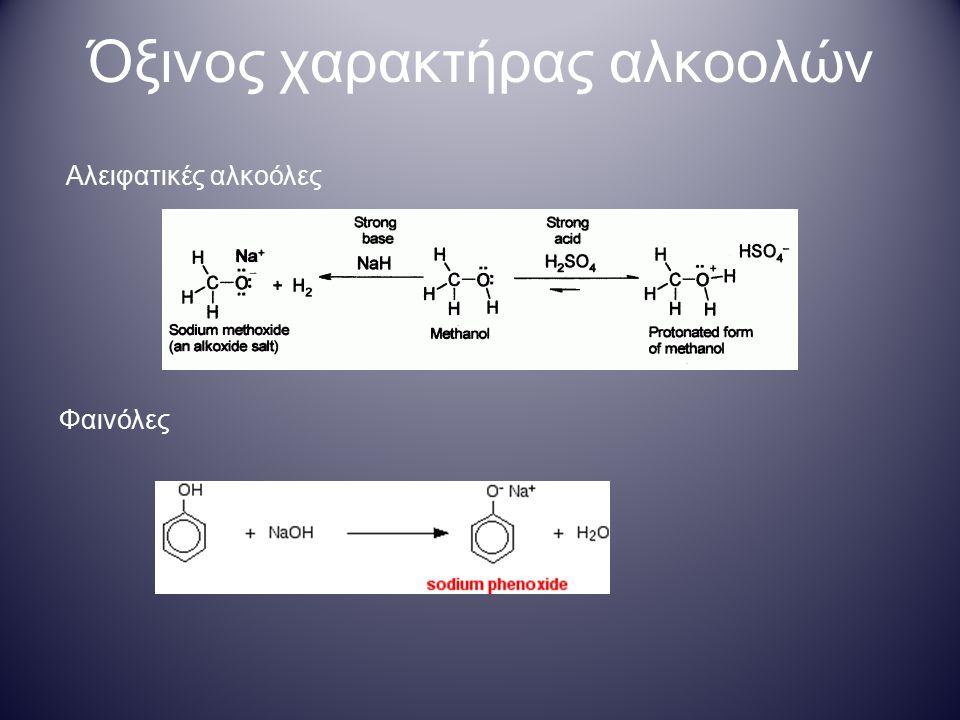 Μέθοδοι σύνθεσης αλκοολών Α.Προσθήκη νερού σε αλκένιο  Η απόδοση της αντίδρασης είναι ~ 5%.