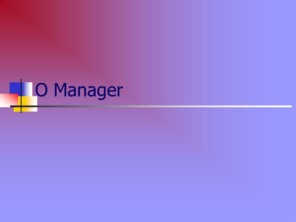 Ο Manager