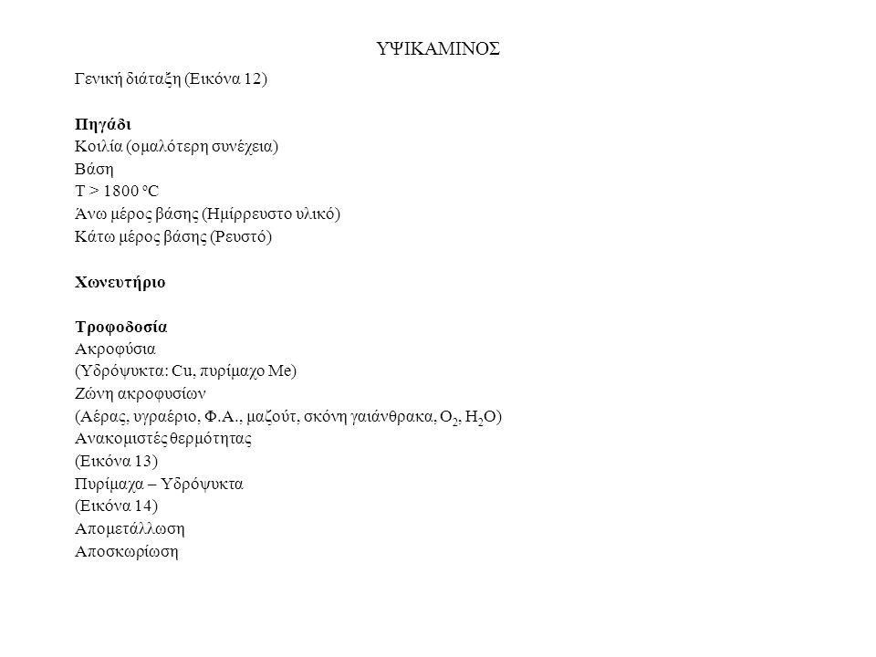 Εικόνα 12. Γενική διάταξη υψικαμίνου και δευτερευόντων εγκαταστάσεων.