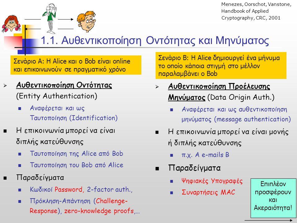 5.Συνοψίζοντας Συμμετρικά Πρωτόκολλα vs Πρωτόκολλα ΔΚ Εδραίωση με Συμμετρικά Συστήματα ΥΠΕΡ 1.