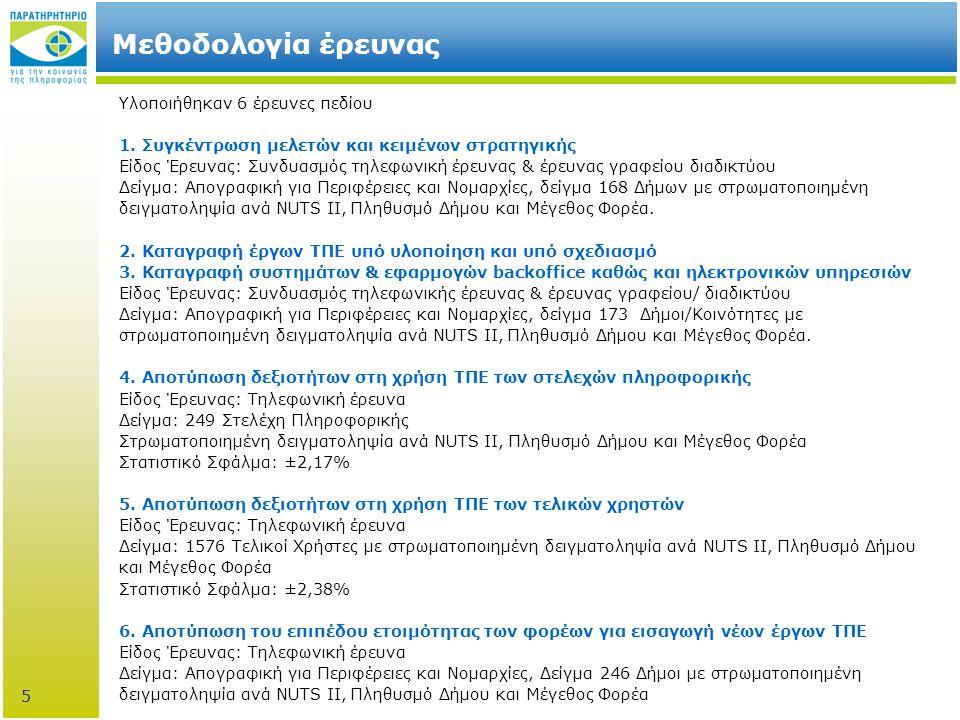 36 stats.observatory.gr Online Στατιστικά  Εργαλείο για την περαιτέρω επεξεργασία στατιστικών δεδομένων αναφορικά με τη χρήση νέων τεχνολογιών  Ελεύθερη πρόσβαση  Παραγωγή πινάκων & γραφημάτων 36