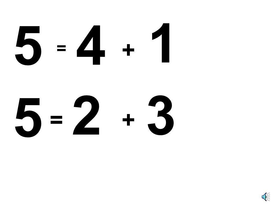 42 + 5 = 3 + 2 = 2