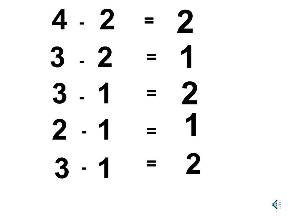 4 - 2 3 - 2 3 - 1 - 21 2 3 - 1 2 1 2 1 = = = = =