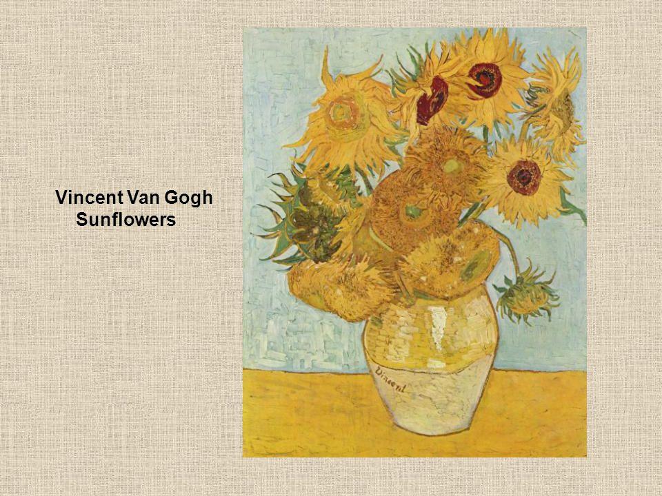 Vincent Van Gogh Sunflowers