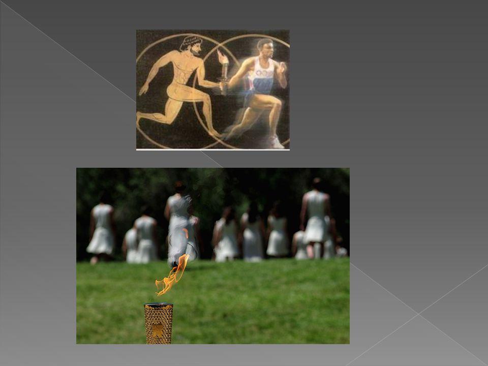 Η Ολυμπιακή Φλόγα είναι ένα σύμβολο των Ολυμπιακών Αγώνων.