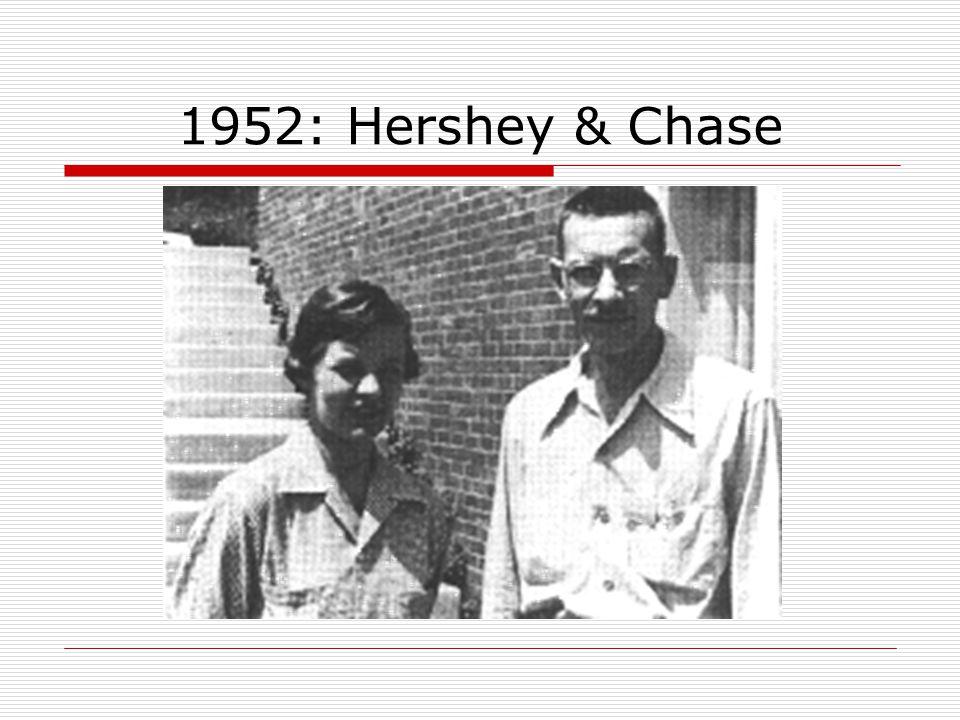 1952: Hershey & Chase