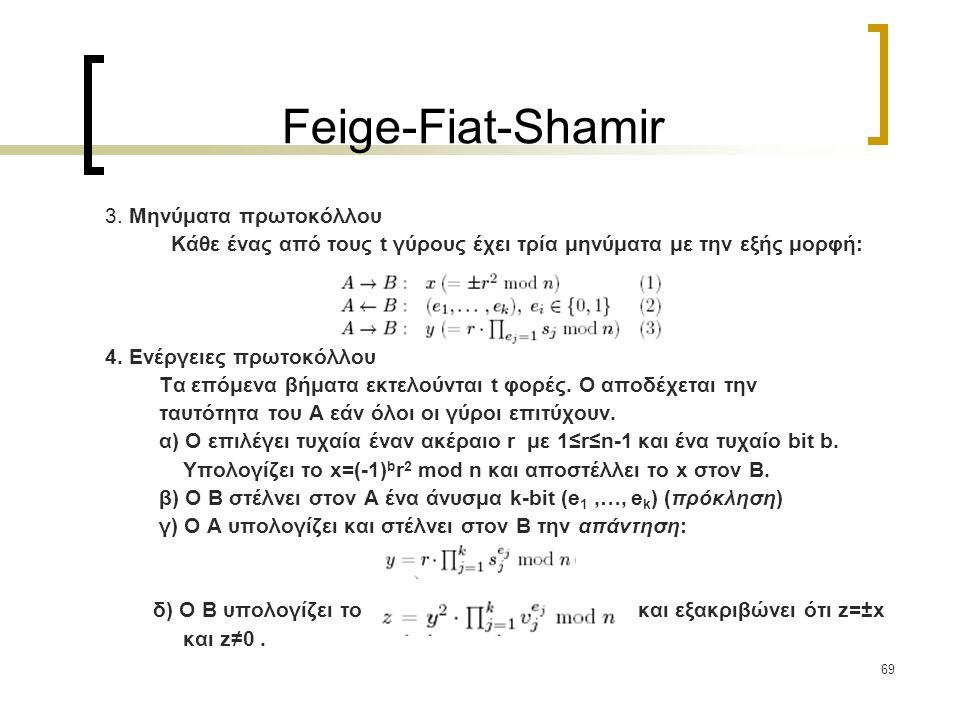 69 Feige-Fiat-Shamir 3.