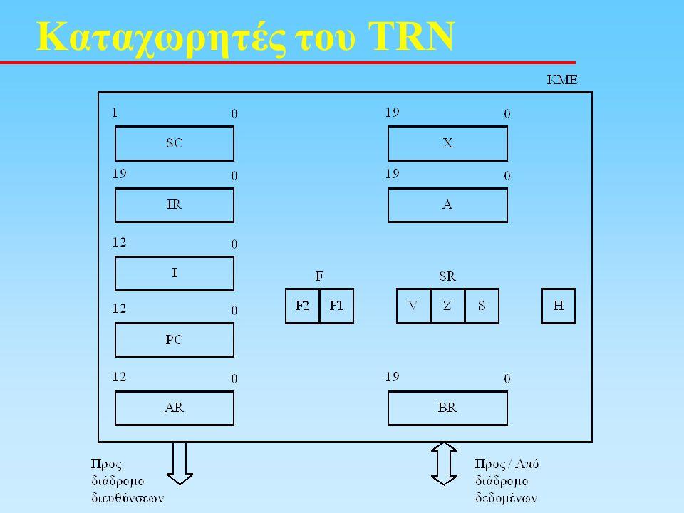 Καταχωρητές του TRN