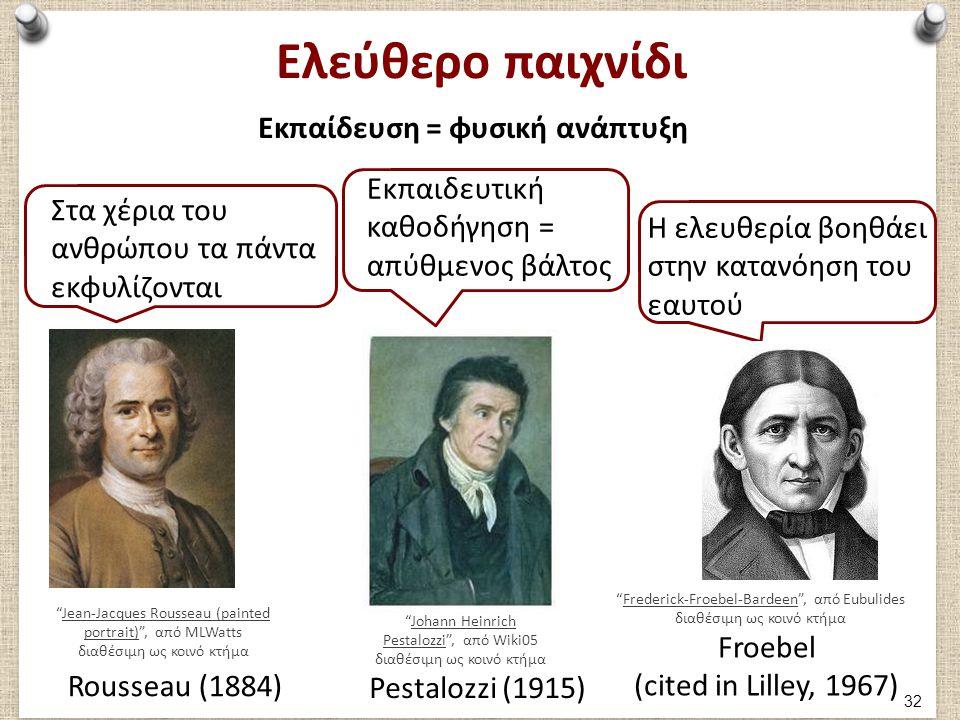 """Ελεύθερο παιχνίδι Εκπαίδευση = φυσική ανάπτυξη """"Jean-Jacques Rousseau (painted portrait)"""", από MLWatts διαθέσιμη ως κοινό κτήμαJean-Jacques Rousseau ("""