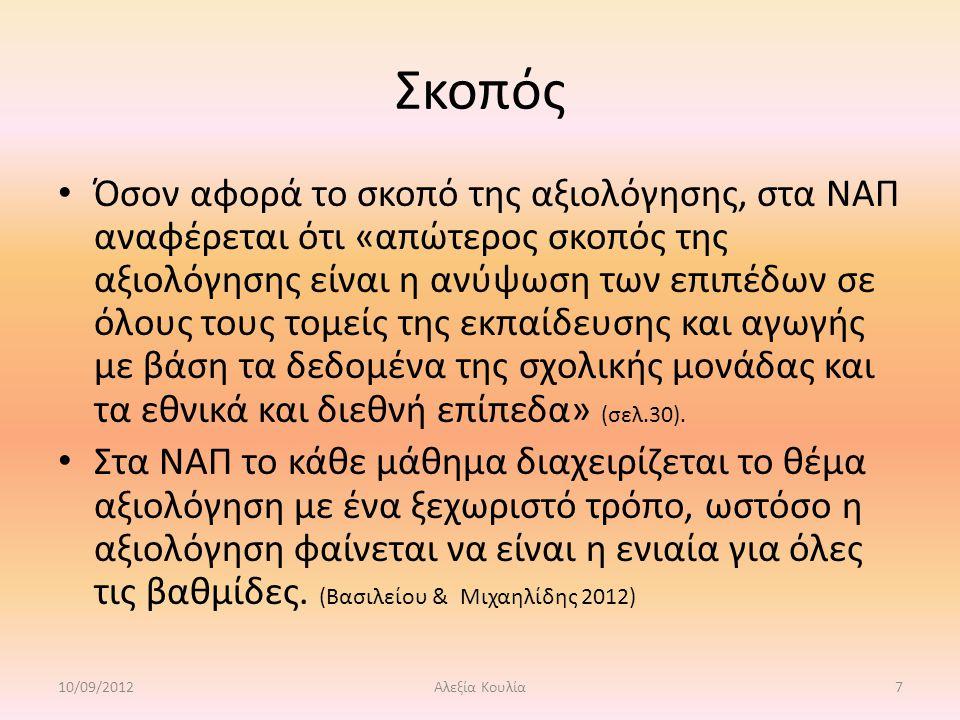Βιβλιογραφία Βασιλείου, Μ.& Μιχαηλίδης, Μ (2010).