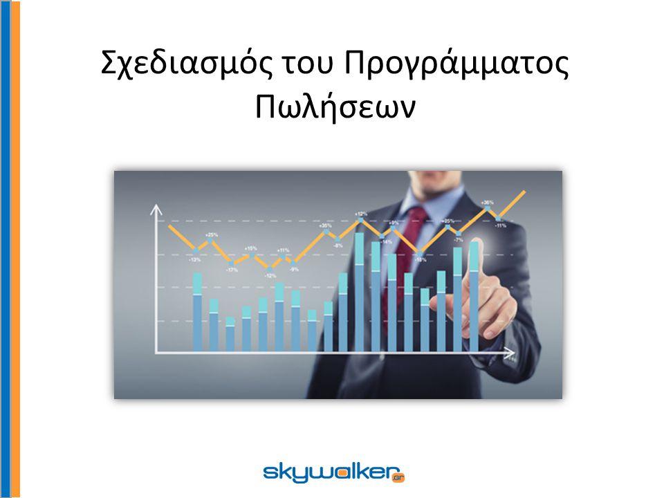 Σχεδιασμός του Προγράμματος Πωλήσεων