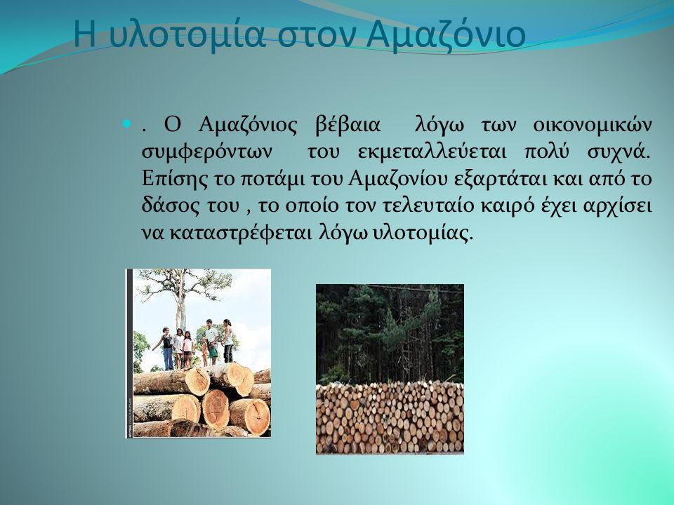 Οι φυλές του Αμαζονίου Ο Αμαζόνιος δεν έχει ιδιαίτερα μεγάλο πλήθος λαών που κατοικούν εκεί.