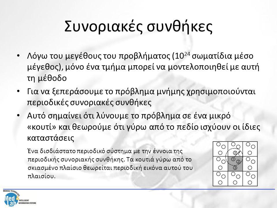 Αλγόριθμος μοριακών δυναμικών 1.Φάση εισόδου.