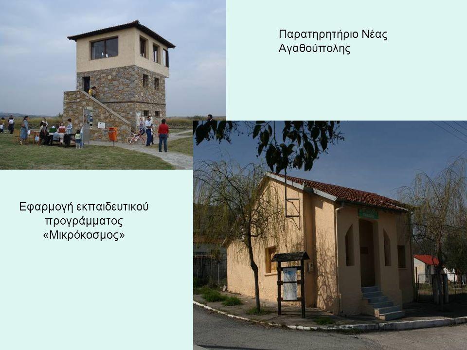 Εφαρμογή εκπαιδευτικού προγράμματος «Μικρόκοσμος» Παρατηρητήριο Νέας Αγαθούπολης