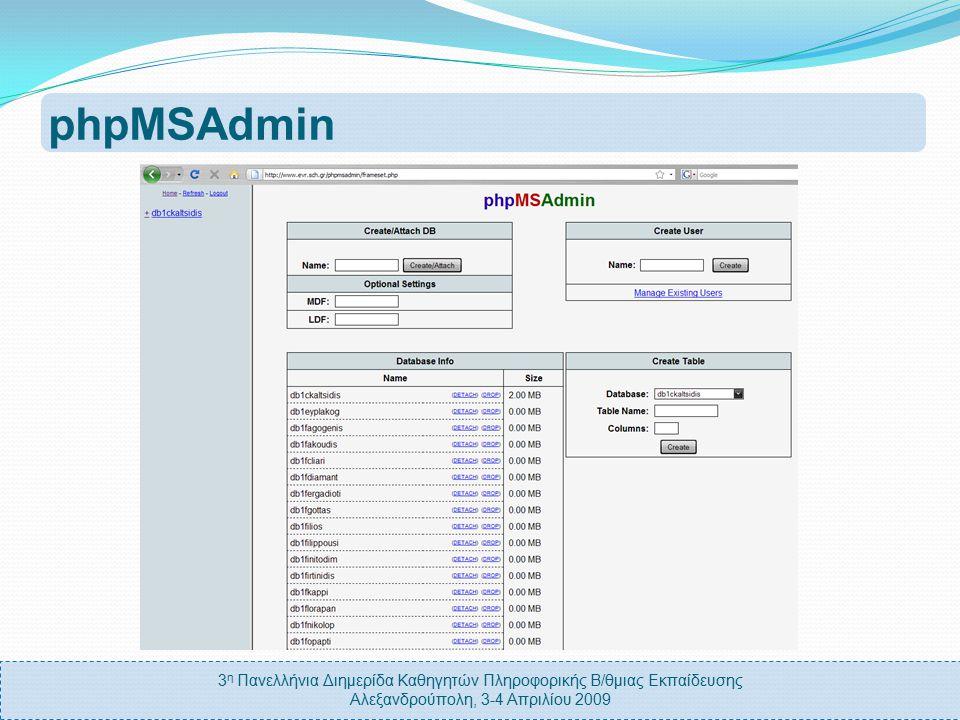 3 η Πανελλήνια Διημερίδα Καθηγητών Πληροφορικής Β/θμιας Εκπαίδευσης Αλεξανδρούπολη, 3-4 Απριλίου 2009 Γιατί να χρησιμοποιήσω την υπηρεσία; Υποστήριξηπληθώραςπλατφόρμων Είναι δωρεάν Ενιαίαονοματολογία ΥποστήριξηΨευδονύμων (alias)