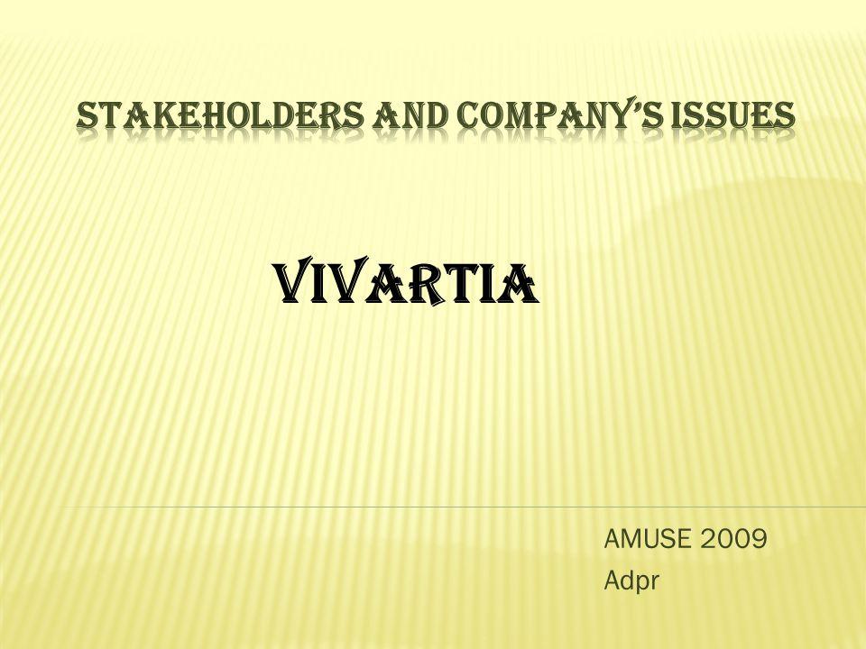 AMUSE 2009 Adpr VIVARTIA