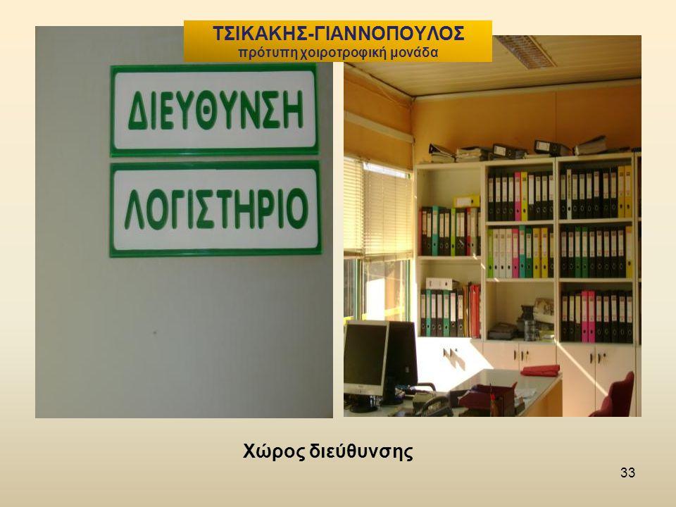 33 Χώρος διεύθυνσης ΤΣΙΚΑΚΗΣ-ΓΙΑΝΝΟΠΟΥΛΟΣ πρότυπη χοιροτροφική μονάδα