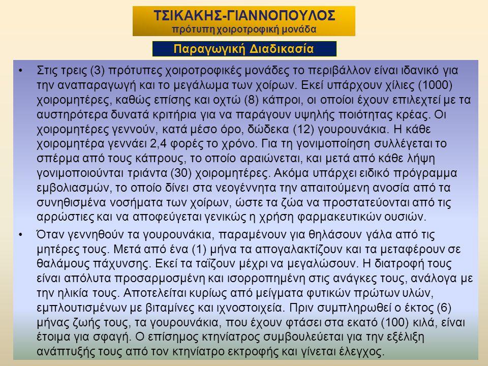 5 ΤΣΙΚΑΚΗΣ-ΓΙΑΝΝΟΠΟΥΛΟΣ πρότυπη χοιροτροφική μονάδα Στις τρεις (3) πρότυπες χοιροτροφικές μονάδες το περιβάλλον είναι ιδανικό για την αναπαραγωγή και το μεγάλωμα των χοίρων.
