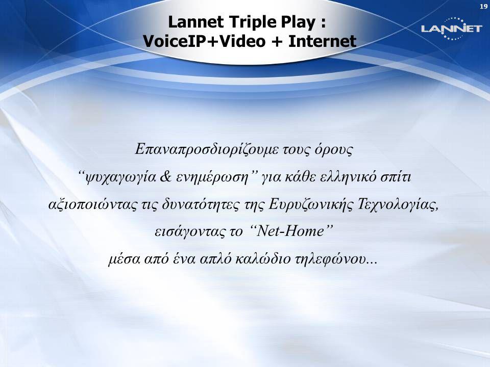 18 Lannet WiMax: Το ευρυζωνικό μέλλον μπορεί να είναι και ασύρματο Κάλυψη Wi-Fi 50m.