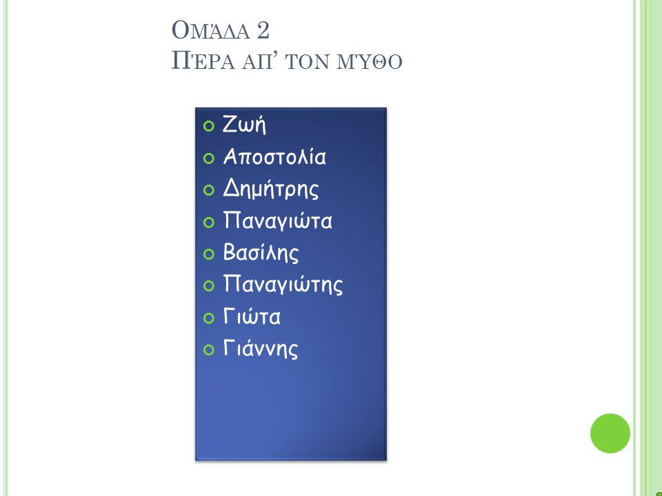 Ε ΙΚΌΝΑ 1 Ο ∆ ΊΑΣ ΚΑΙ Ο Ε ΡΜΉΣ ΣΤΟ ΣΠΊΤΙ ΤΟΥ Φ ΙΛΉΜΟΝΑ ΚΑΙ ΤΗΣ Β ΑΥΚΊΔΑΣ 5