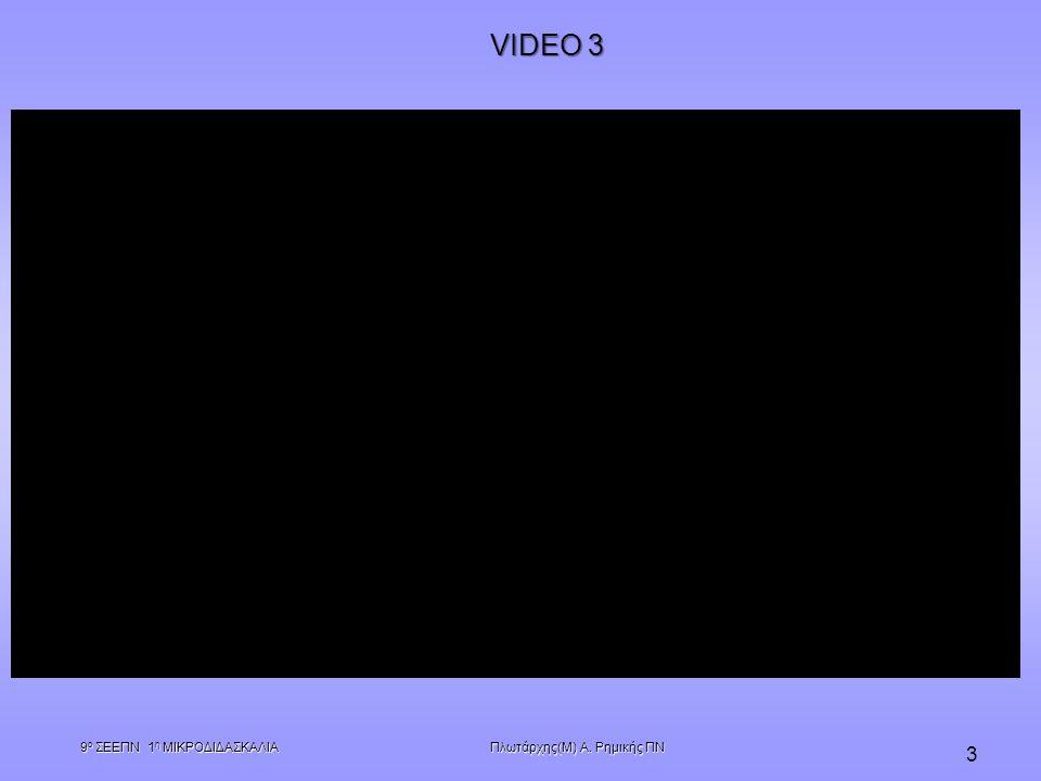 Πλωτάρχης(Μ) Α. Ρημικής ΠΝ 9 ο ΣΕΕΠΝ 1 η ΜΙΚΡΟΔΙΔΑΣΚΑΛΙΑ 3 VIDEO 3