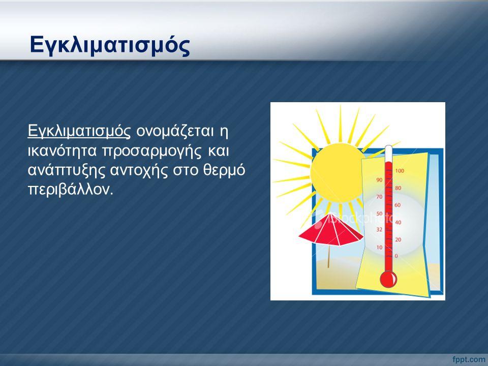 Συστηματικές Βλάβες Μυϊκές κράμπες Ηλίαση Θερμική εξάντληση Θερμοπληξία