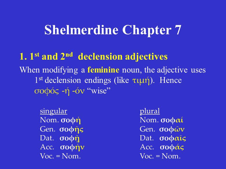 Shelmerdine Chapter 7 1.