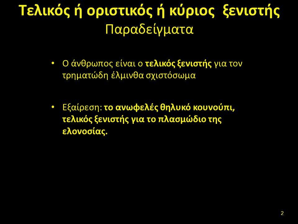 Στάδια βιολογικού κύκλου (3 από 5) Ο νηματώδης έλμινθας Αγκυλόστομα Αυγό (ωό), Ραβδοειδής προνύμφη, Νηματοειδή προνύμφη, Ώριμος έλμινθας, Αυγό.
