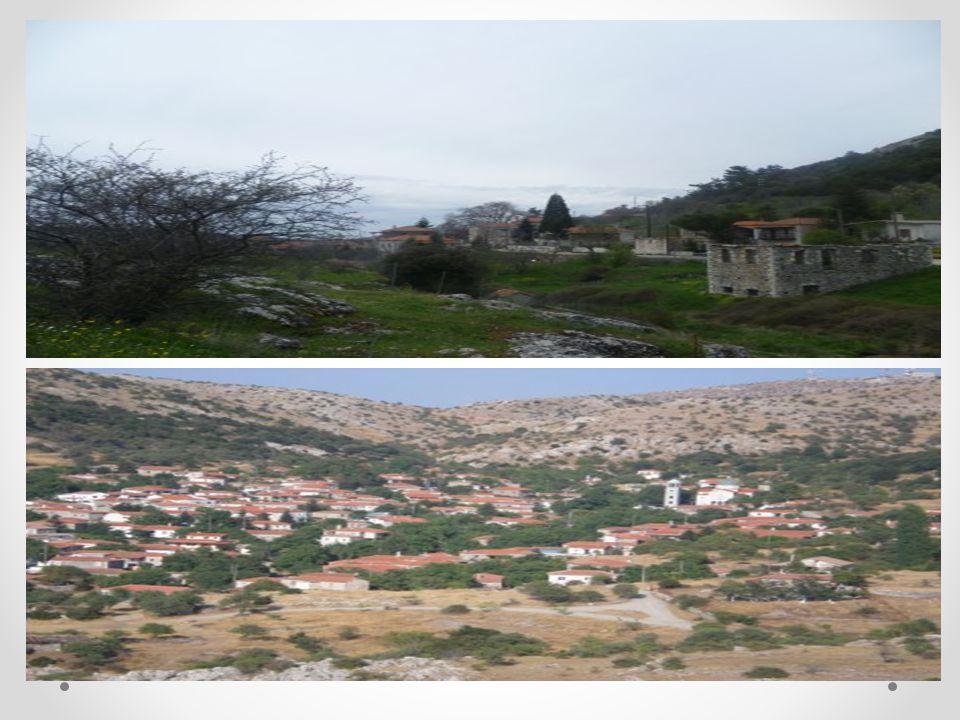 Τα σπίτια κτίζονταν από την άφθονη πέτρα που βρισκόταν σε αυτά τα μέρη, προκειμένου να σταθεροποιήσουν την κατασκευή αντί για τσιμέντο χρησιμοποιούσαν λάσπη.