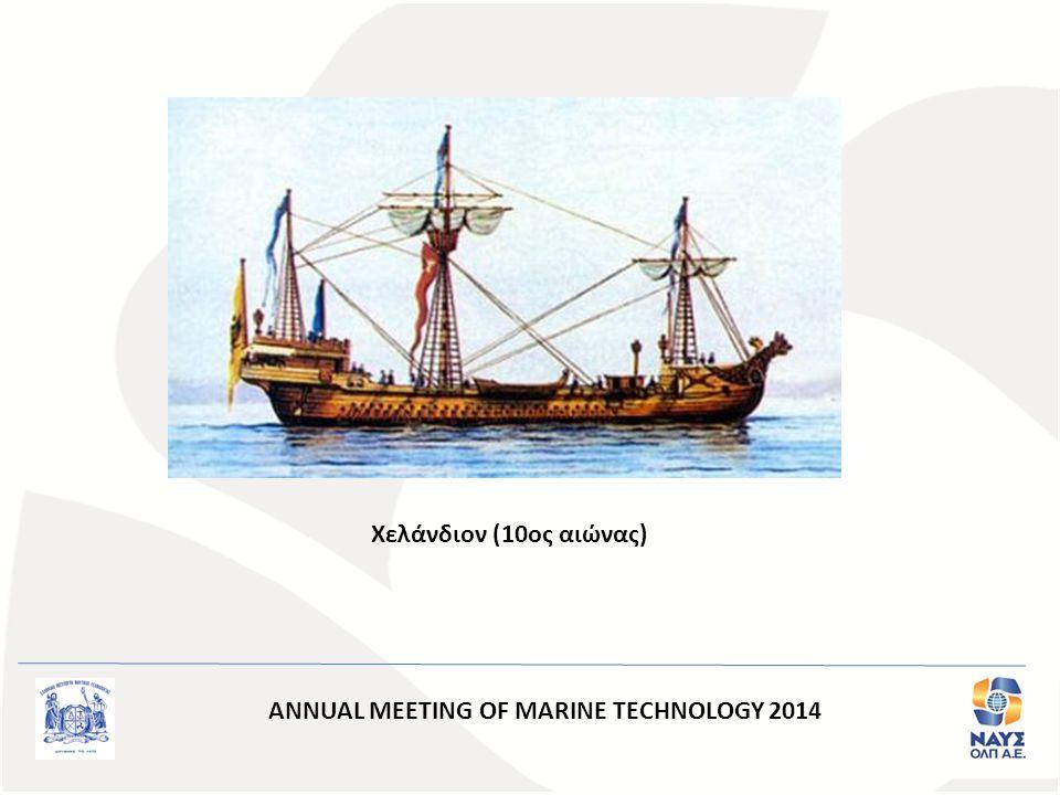 Χελάνδιον (10ος αιώνας) ANNUAL MEETING OF MARINE TECHNOLOGY 2014