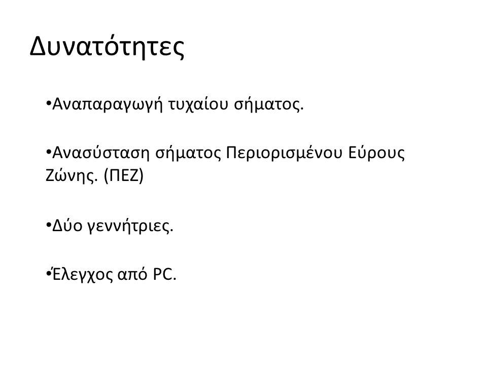 Ανασύσταση σήματος ΠΕΖ Χ[n] ακολουθία ψηφιακών δειγμάτων.