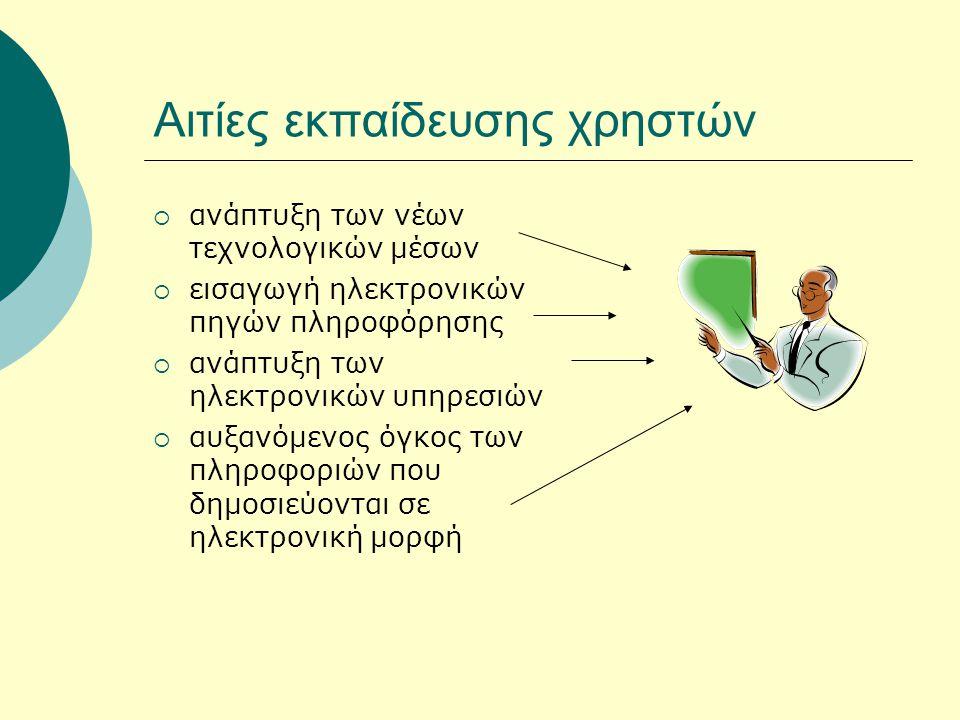Πρότυπο 5 της Medical Library Association 1.