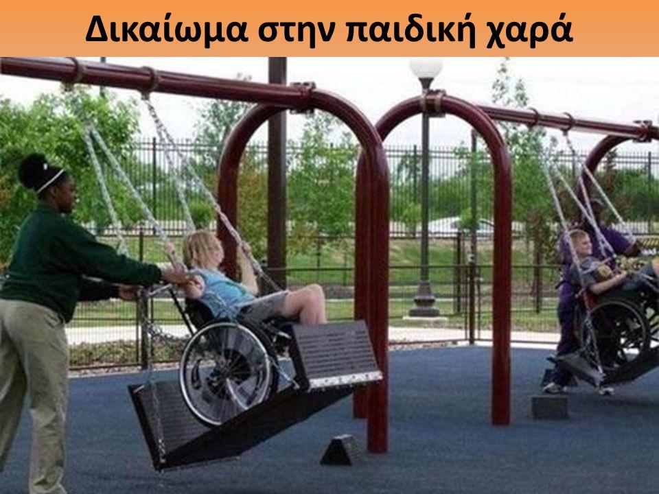 Δικαίωμα στην παιδική χαρά