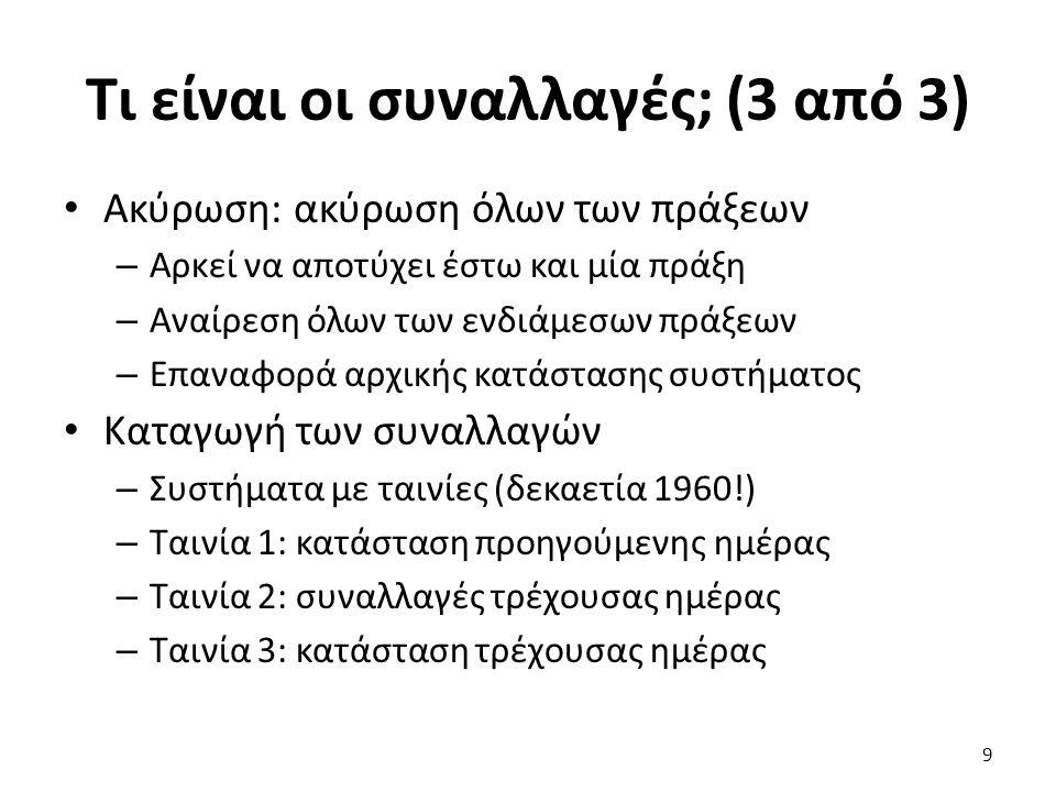 Διάταξη χρονοσφραγίδων Μάθημα: Κατανεμημένα Συστήματα με Java, Ενότητα # 7: Ατομικές συναλλαγές Διδάσκων: Γιώργος Ξυλωμένος, Τμήμα: Πληροφορικής