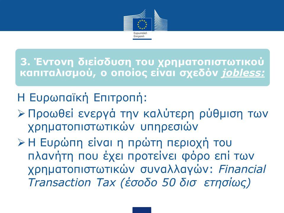 ΙΙ.Τι μέσα έχουμε σε Ευρωπαϊκό Επίπεδο, ποιες πολιτικές προτείνονται.