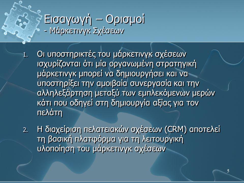 26 Εισαγωγή – Ορισμοί - ERP συστήματα 1.