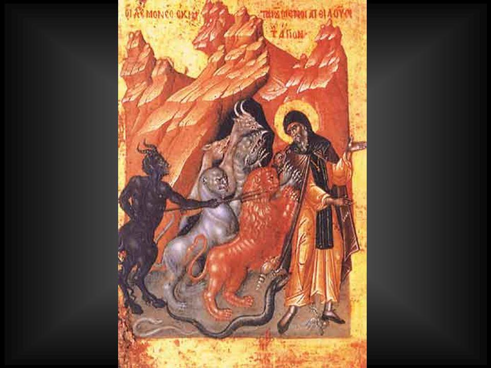 1.Ά γγελοι που εξέπεσαν από τη θέση τους γιατί θέλησαν από υπερηφάνεια να αντικαταστήσουν το Θεό.