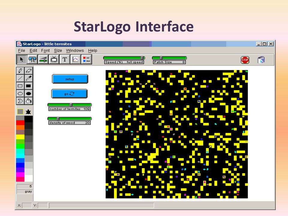 StarLogo Interface