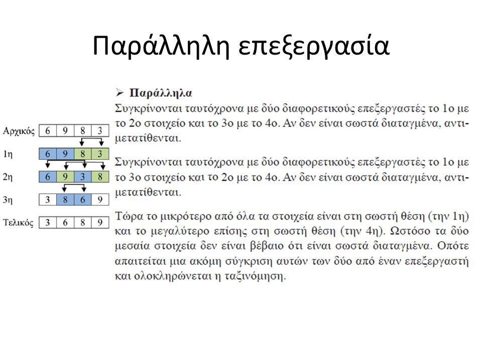 Μη γραμμικές δομές Στις μη γραμμικές δομές δεν μπορεί να οριστεί μια σχέση διάταξης όπως η παραπάνω.