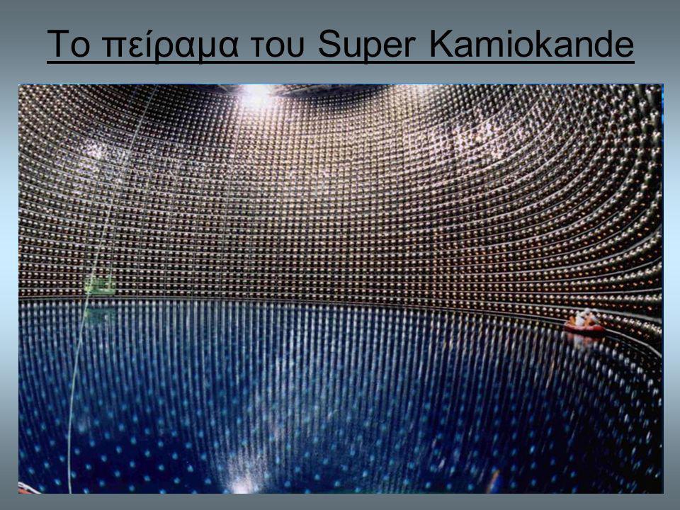 Το πείραμα του Super Kamiokande