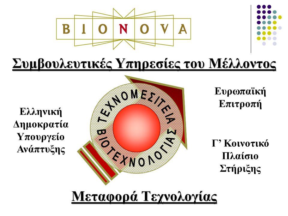 Συμβουλευτικές Υπηρεσίες του Μέλλοντος Μεταφορά Τεχνολογίας Ελληνική Δημοκρατία Υπουργείο Ανάπτυξης Ευρωπαϊκή Επιτροπή Γ' Κοινοτικό Πλαίσιο Στήριξης